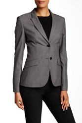 Hugo Boss Julea Wool Blend Blazer Multi