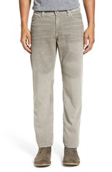 Ag Jeans Men's 'Graduate' Tailored Straight Leg Corduroy Pants Sulfur Stucco
