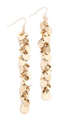 Adia Kibur Ariel Linear Earrings Gold
