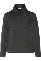 See By Chloe Quilted Shell Jacket Black