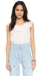 Ulla Johnson Edith Blouse Daisy