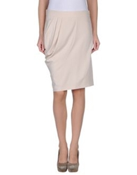 Toy G. Knee Length Skirts Beige