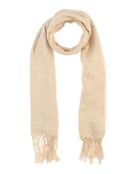 Coast Weber And Ahaus Oblong Scarves Beige