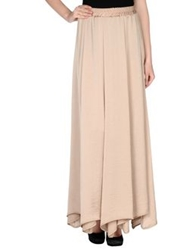 Alpha Studio Long Skirts Sand