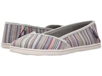 Rocket Dog Hanes Natural Harmony Stripe Women's Flat Shoes Multi