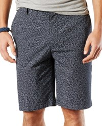 Dockers Men's Micro Anchor Perfect Shorts Navy