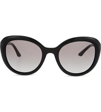 Giorgio Armani Ar8065 Cat Eye Sunglasses Black
