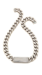 Luv Aj The Id Necklace Antique Platinum