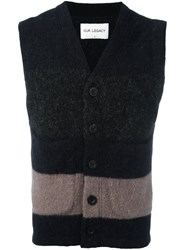 Our Legacy Colour Block Waistcoat Black