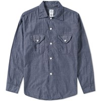 Post Overalls E Z Cruz Shirt Blue