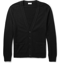 Saint Laurent Cashmere Cardigan Black