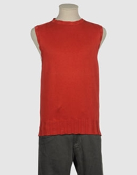 Sevres Sweater Vests Red