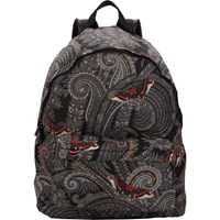 Givenchy Butterfly Paisley Print Backpack Black