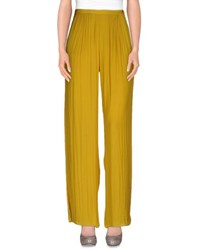 Hoss Intropia Trousers Casual Trousers Women Ochre