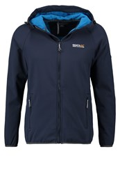 Regatta Arec Soft Shell Jacket Navy Impulse Blue Dark Blue