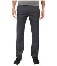 Volcom Frickin Modern Stretch Chino Dark Charcoal Men's Casual Pants Gray