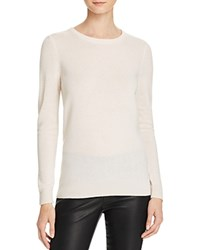 Bloomingdale's C By Crewneck Cashmere Sweater Snow