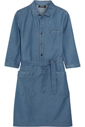 A.P.C. Nancy Denim Shirt Dress