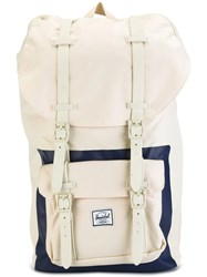Herschel Supply Co. Double Strap Fastening Backpack Nude Neutrals