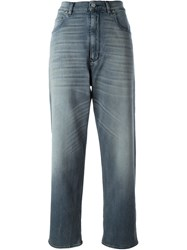 Golden Goose Deluxe Brand High Rise Boyfried Jeans Grey