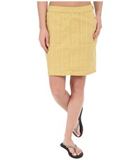 Prana Kara Skirt Marigold Mixer Women's Skirt