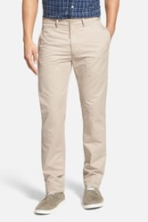 Grayers 'Newport' Slim Leg Chinos Beige