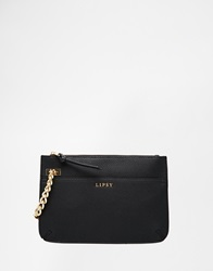 Lipsy Black Chain Clutch
