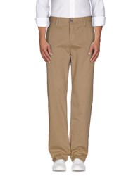 Guess Trousers Casual Trousers Men Khaki