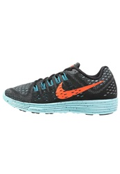 Nike Performance Lunartempo Lightweight Running Shoes Black Hyper Orange Copa Blue Lagoon