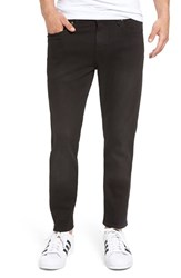 Volcom Men's 'Solver' Tapered Jeans Dusted Black