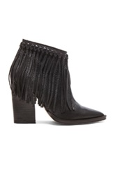 By Malene Birger Ounni Leather Booties In Black