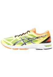 Asics Gelds Trainer 21 Lightweight Running Shoes Flash Yellow Black Hot Orange