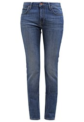 Lee Marion Straight Straight Leg Jeans Night Waves Stone Blue Denim