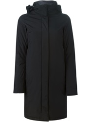 Herno Padded Hooded Coat Black