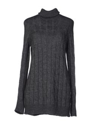 Stefanel Turtlenecks Grey