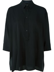 Y's Loose Fit Shirt Black