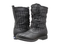 Keds Snowday Black Plaid Women's Cold Weather Boots