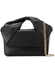 J.W.Anderson J.W. Anderson 'Twist' Handle Clutch Black