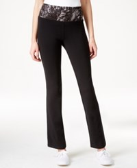 Styleandco. Style And Co. Printed Waistband Yoga Pants Only At Macy's