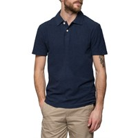 Grayers Navy Reverse Cotton Polo Shirt Grey