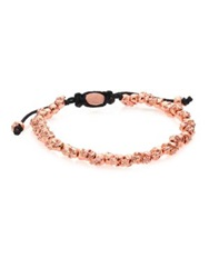 M.Cohen Stacked Skulls Bracelet Rose Goldtone Rose Gold