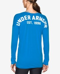 Under Armour Favorite Long Sleeve Top Water White