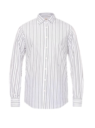 Massimo Alba Genova Striped Cotton Shirt