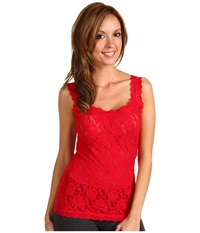Hanky Panky Signature Lace Unlined Cami Red Women's Underwear