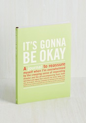 It's Gonna Be Okay Journal Mod Retro Vintage Desk Accessories Modcloth.Com