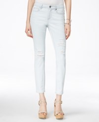 Two By Vince Camuto Ripped Beachside Wash Skinny Jeans