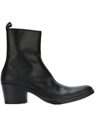 Haider Ackermann Heeled Ankle Boots Black