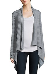 Eileen Fisher Cashmere Draped Front Sweater Moon