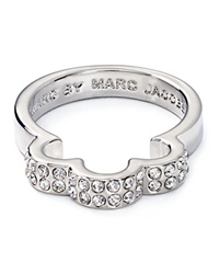 Marc By Marc Jacobs Daisy Window Ring Silver