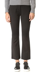 Rebecca Taylor Slim Flare Suit Pants Black